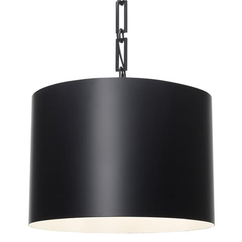 Brian Patrick Flynn for Crystorama Alston 6 Light Matte Black Chandelier