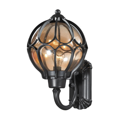 ELK Lighting 87022/1 Madagascar Collection Matte Black Finish - PeazzLighting
