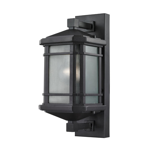 ELK Lighting 87040/1 Lowell Collection Matte Black Finish - PeazzLighting