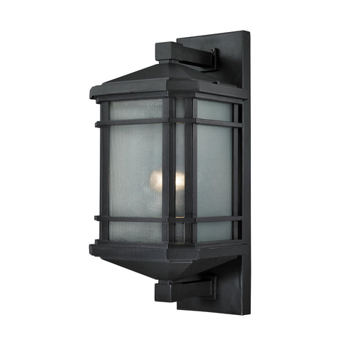 ELK Lighting 87042/1 Lowell Collection Matte Black Finish - PeazzLighting