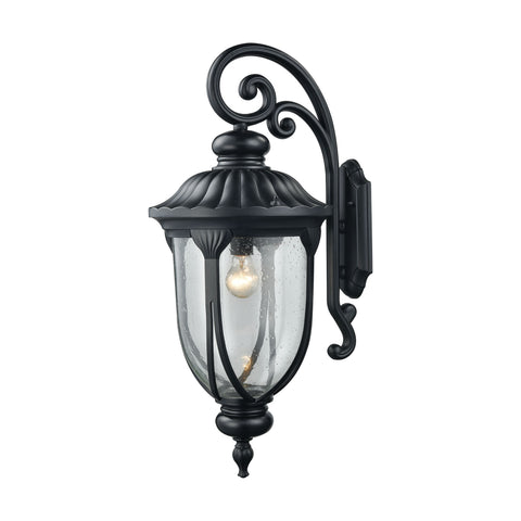 ELK Lighting 87102/1 Derry Hill Collection Matte Black Finish - PeazzLighting