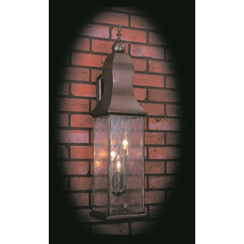 Framburg 9268-RC 3-Light Raw Copper Marquis Exterior Wall Mount