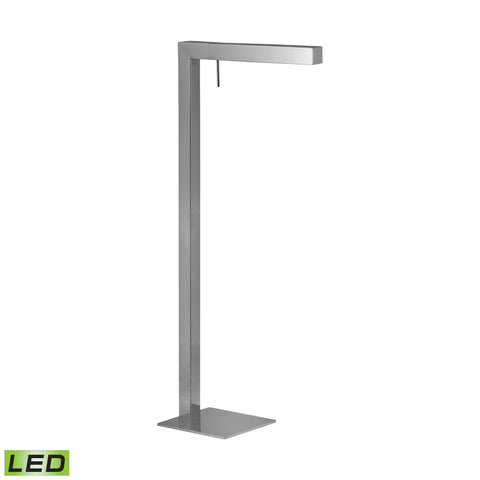 Lamp Works LAM-993 LED Collection Chrome Finish Floor Lamp