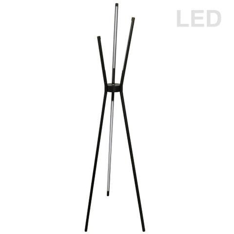 30W LED Floor Lamp, BK