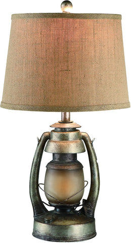 Crestview Collection CIAUP530 Oil Lantern Table Lamp 12 X 14 X 10 - PeazzLighting