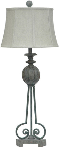 Crestview Collection CVAER128 Strive Table Lamp 12 X 15 X 10 - PeazzLighting