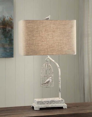 Crestview Collection CVAER463 Birdsong Table Lamp 17/10 X 17/10 X 10.5 - PeazzLighting