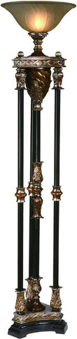 Crestview Collection CVANP812 Newcastle Torchiere Lamp 16Dia. X 6 Ht. - PeazzLighting