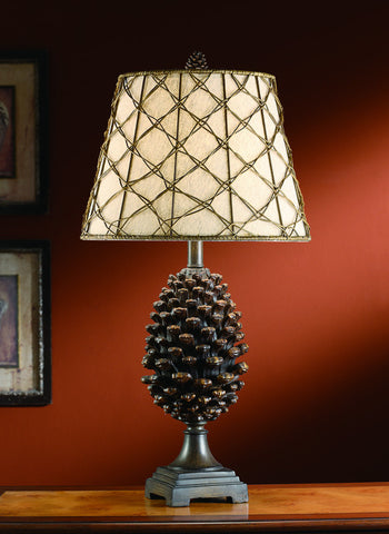 Crestview Collection CVASP083 Pine Bluff Table Lamp 10 X 15 X 11 - PeazzLighting