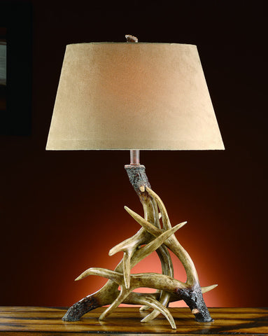 Crestview Collection CVATP533 Deer Shed Table Lamp 9/14 X 11/18 X 11 - PeazzLighting