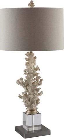 "Crestview Collection CVAUP861 Coral Gabels Table Lamp 31.5""Ht 15 X 15 X 10 - PeazzLighting"