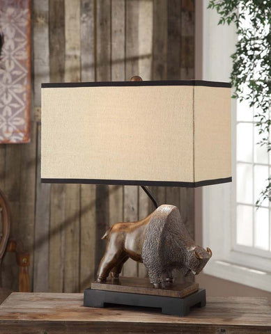 Crestview Collection CVAUP929 Range Table Lamp 18/11 X 18/11 X 11 - PeazzLighting