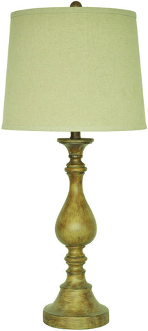 Crestview Collection CVAUP951 Biscayne Table Lamp 12 X 14 X 11 - PeazzLighting