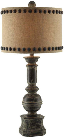 Crestview Collection CVAUP995 Iron Baluster Table Lamp 15 X 15 X 10 - PeazzLighting
