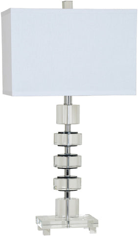 Crestview Collection CVAZBS006 Olivia Table Lamp 15/8 X 15/8 X 10 - PeazzLighting