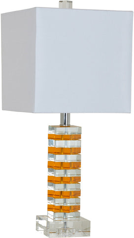 Crestview Collection CVAZBS007 Jill Table Lamp 10/10 X 10/10 X 9.5 - PeazzLighting