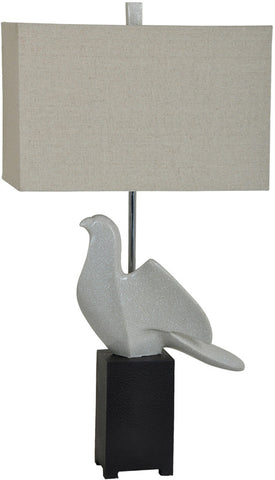 Crestview Collection CVAZVP001 Perched Table Lamp 16/9 X 16/9 X 10 - PeazzLighting