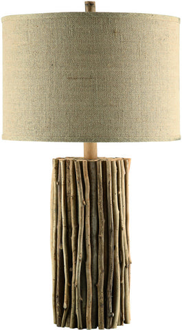 "Crestview Collection CVLY1883 Natural Twigs Table Lamp 31""Ht 17.5 X 17.5 X 11.5 - PeazzLighting"