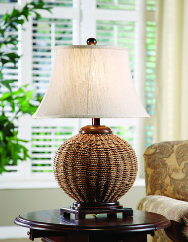Crestview Collection CVNAM638 Latham Table Lamp 8/12 X 14/19 X 12 - PeazzLighting
