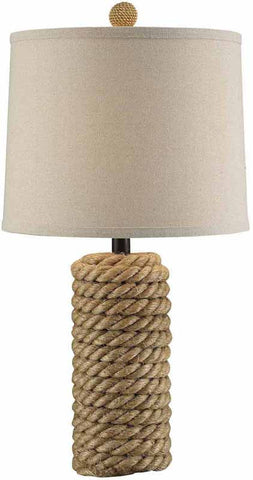Crestview Collection CVNAM695 Rope Bolt Table Lamp 12 X 13 X 10 - PeazzLighting
