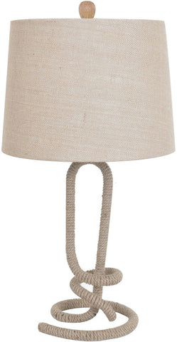 Crestview Collection CVNAM696 Twisted Rope Table Lamp 13 X 15 X 11 - PeazzLighting