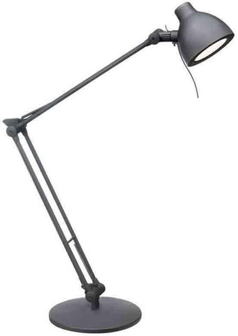 Dainolite DLED-621-BK 6Watt LED Desk Lamp, Black