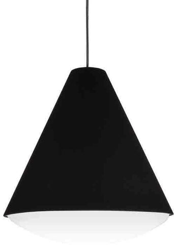 Dainolite EMLED-13P-BK 14W LED Pendant, Black