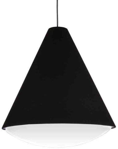 Dainolite EMLED-17P-BK 22W LED Pendant, Black