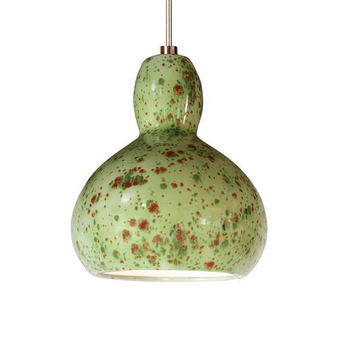 A19 LVMP13-PS-LEDMR16 Studio Collection Venus Pistachio Finish Mini Pendant