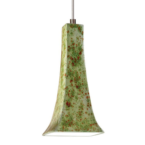 A19 LVMP14-PS-LEDMR16 Studio Collection Eiffel Pistachio Finish Mini Pendant