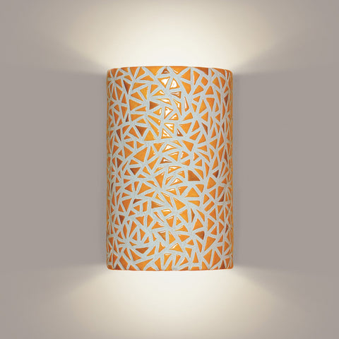 A19 M20307-SY-WETST-CFL13 Mosaic Collection Impact Sunflower Yellow Finish