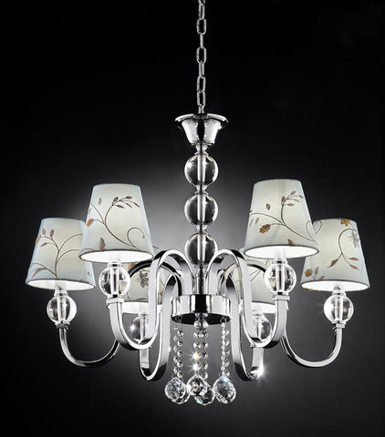 Ok Lighting OK-5116H Crystal Ball Chandelier - PeazzLighting