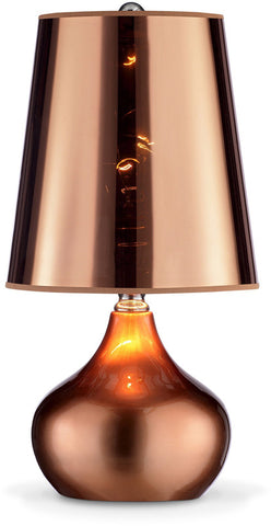 Ok Lighting OK-818RG Luster Rose Gold Table Lamp - PeazzLighting