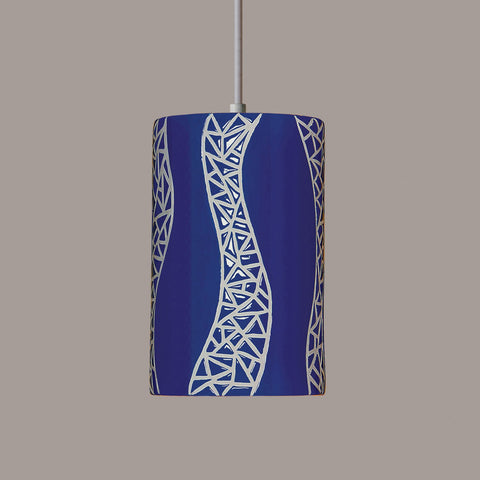 A19 PM20304-CB-BCC Mosaic Collection Passage Cobalt Blue Finish
