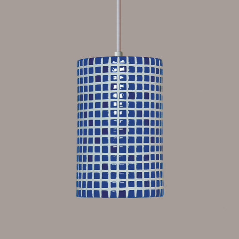 A19 PM20308-CB-CFL13-BCC Mosaic Collection Confetti Cobalt Blue Finish