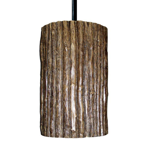 A19 PN20303-CFL13-BCC Nature Collection Twigs Twig Finish Pendant