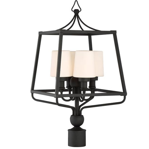 Libby Langdon for Crystorama Sylvan Outdoor 4 Light Post
