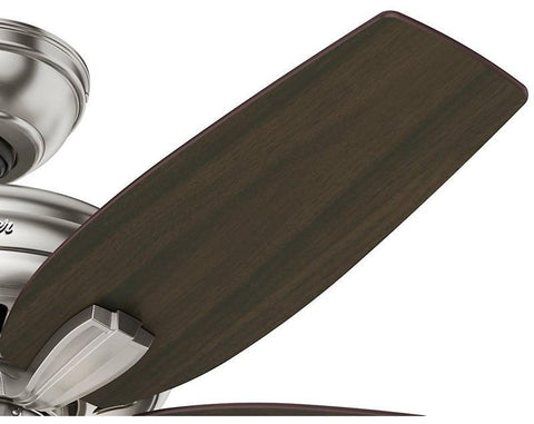 "Casablanca 51085 Newsome Collection - 42"" Brushed Nickel Three Light Kit 51085 FAN"
