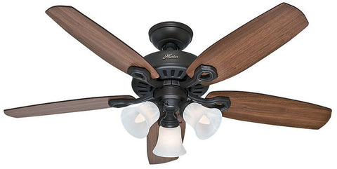 "Casablanca 52107 Builder Small Room- 42"" New Bronze Three Light Kit 52107 FAN"