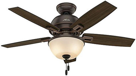 "Casablanca 52225 Donegan Collection - 44"" Onyx Bengal Bowl Light Kit 52225 FAN"