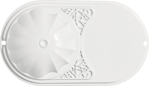 "Casablanca 53350 Sea Wind Collection - 48"" White ETL Damp 53350 FAN"