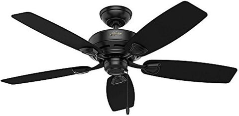 "Casablanca 53351 Sea Wind Collection - 48"" Matte Black ETL Damp 53351 FAN"