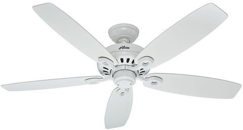 "Casablanca 54108 Markham® -52"" Snow White 54108 FAN"
