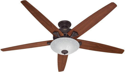 "Casablanca 55042 Stockbridge® - 70"" New Bronze Bowl Light Kit 55042 FAN"