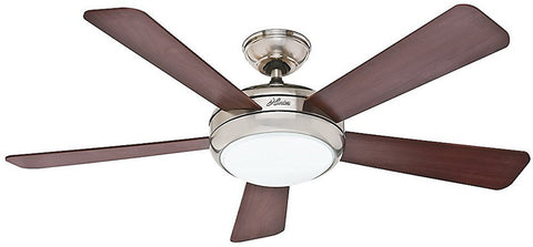 "Casablanca 59052 Palermo™ - 52"" Brushed Nickel Integrated Light Kit 59052 FAN"
