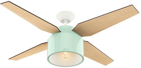 "Casablanca 59258 Cranbrook Collection - 52"" Mint Green 59258 FAN"