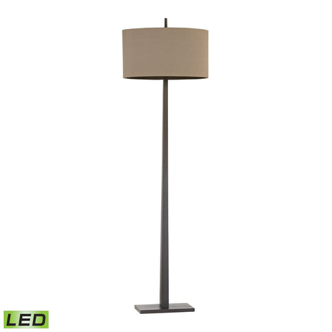 Lamp Works LAM-D2915-LED Wheatstone Collection Bronze Finish Floor Lamp