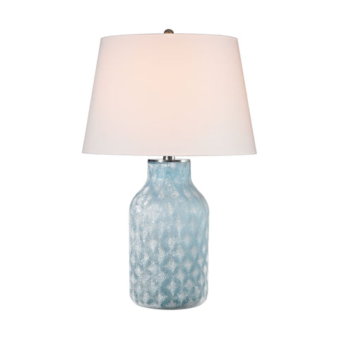 Lamp Works LAM-D2922 Sophie Collection Santa Monica Blue Finish Table Lamp