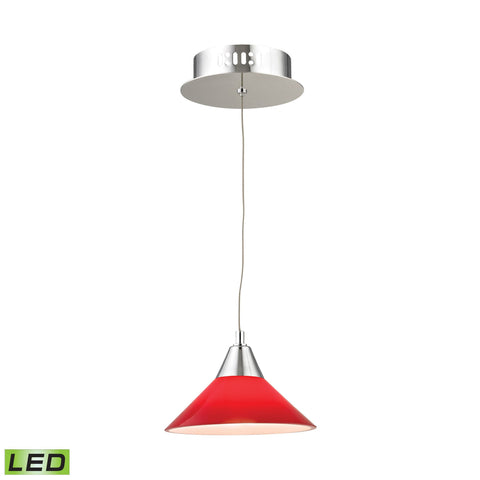 Alico LCA101-11-15 Cono Collection Chrome Finish Pendant