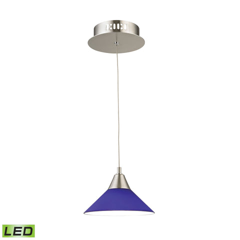 Alico LCA101-7-16M Cono Collection Satin Nickel Finish Pendant
